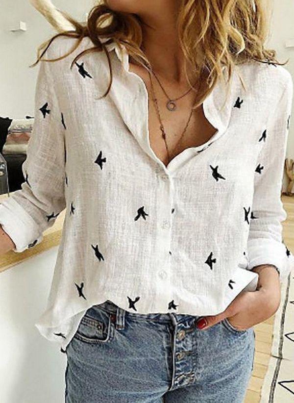 Белая блузка 1416747