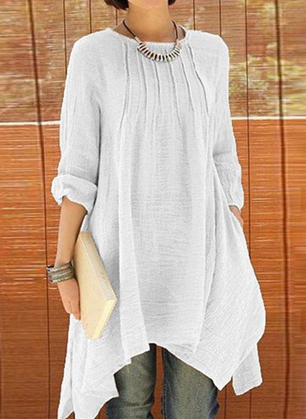Белая блузка 1425228
