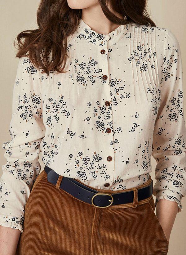 Белая блузка 1425236