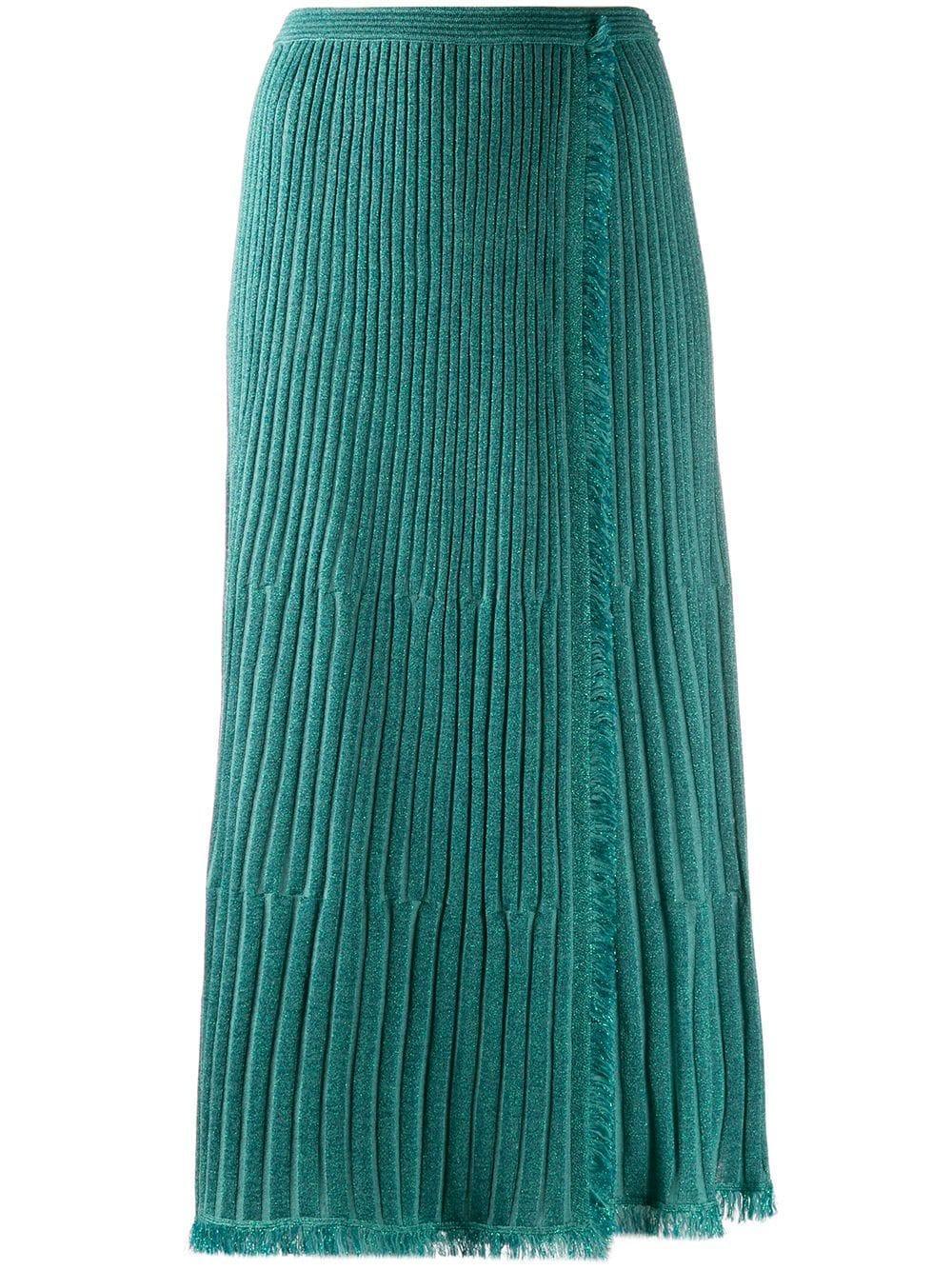 Diane von Furstenberg юбка миди Brooklyn с запахом