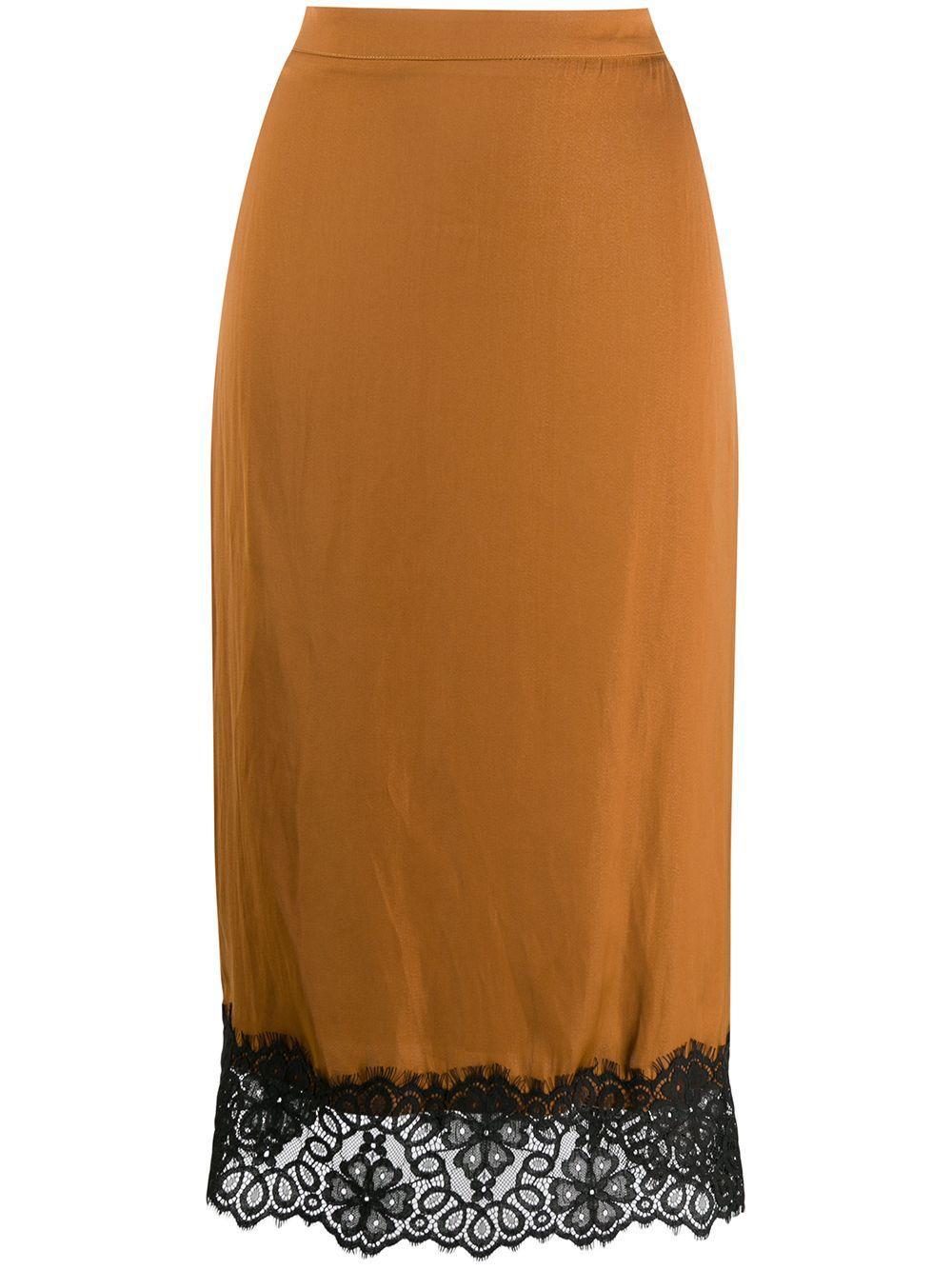 Essentiel Antwerp юбка-карандаш с кружевом