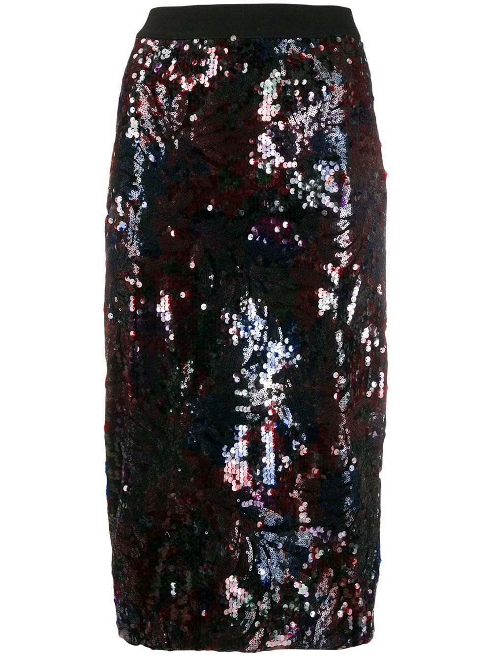 Essentiel Antwerp юбка-карандаш Tempta с пайетками
