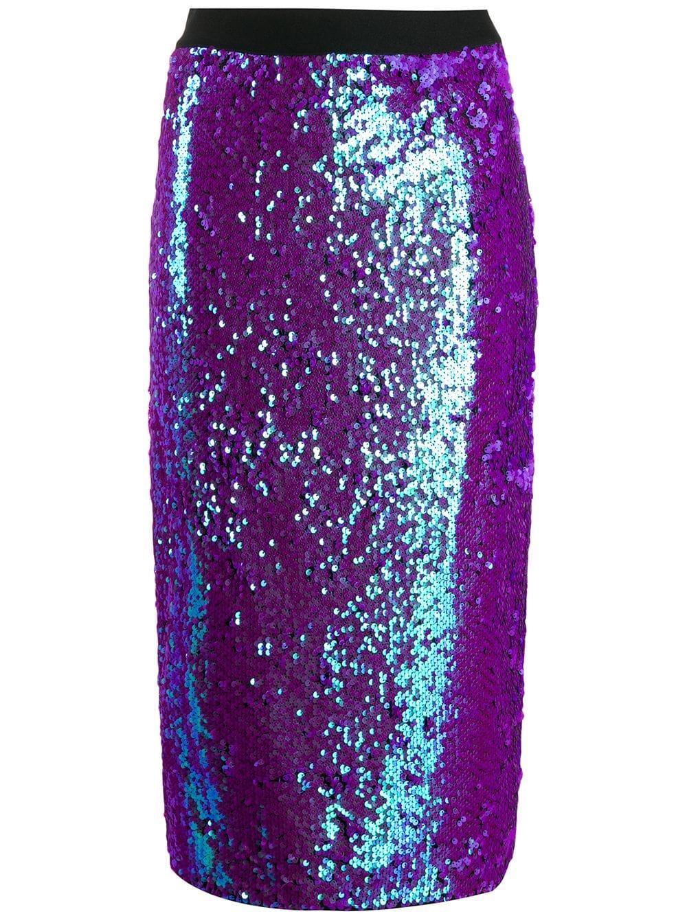 Essentiel Antwerp юбка-карандаш Temptation с пайетками