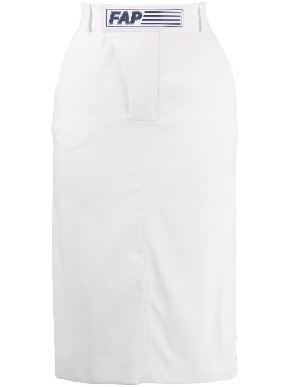 Filles A Papa юбка-карандаш Shaun с нашивкой-логотипом