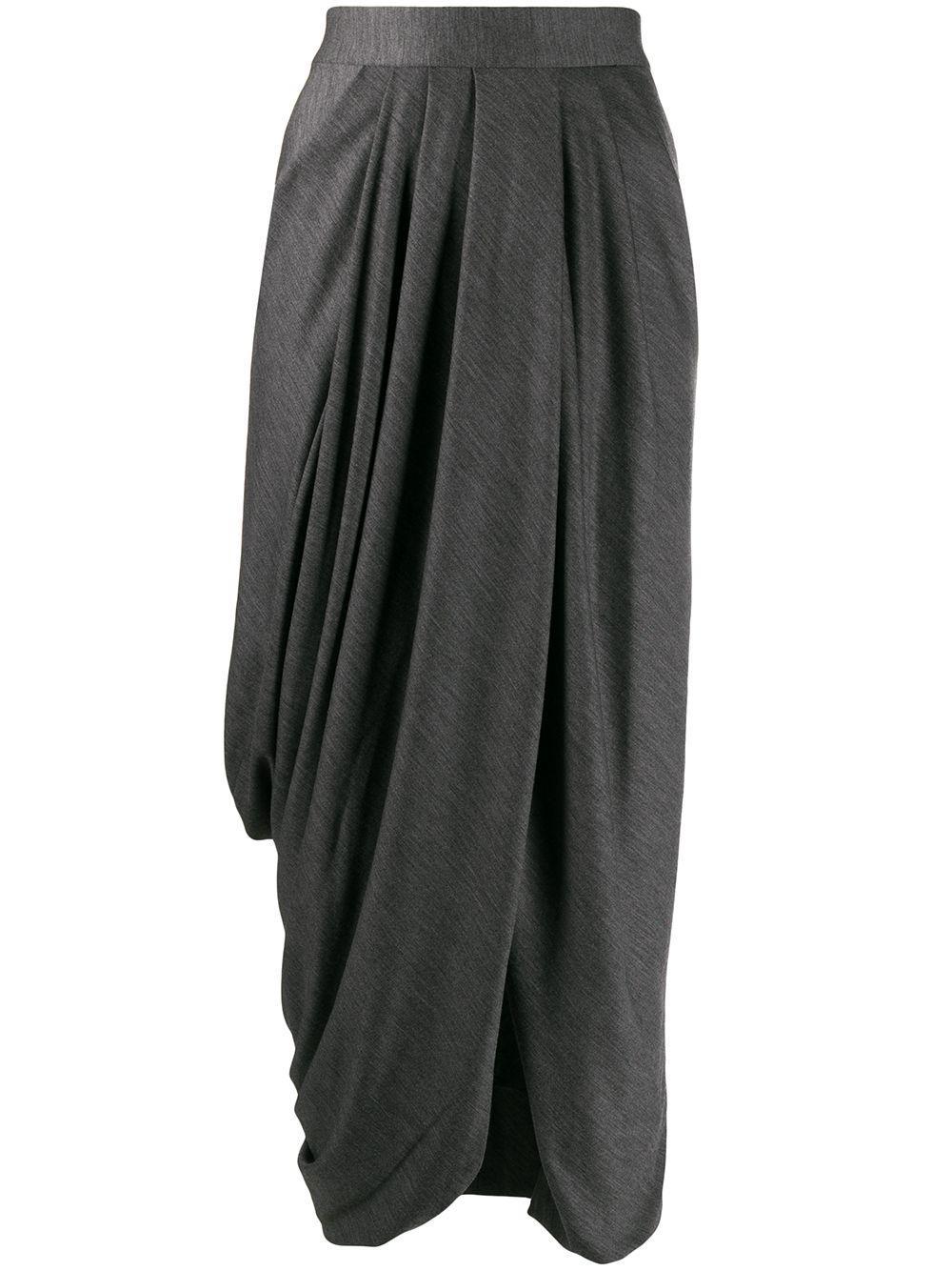 Isabel Marant юбка с драпировкой