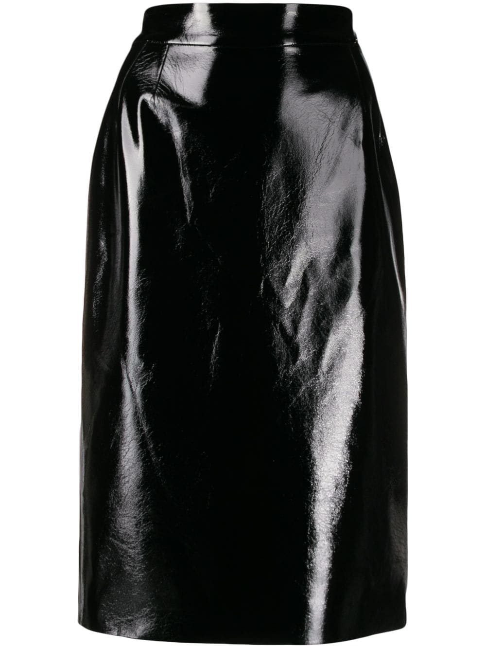 LIU JO лакированная юбка миди