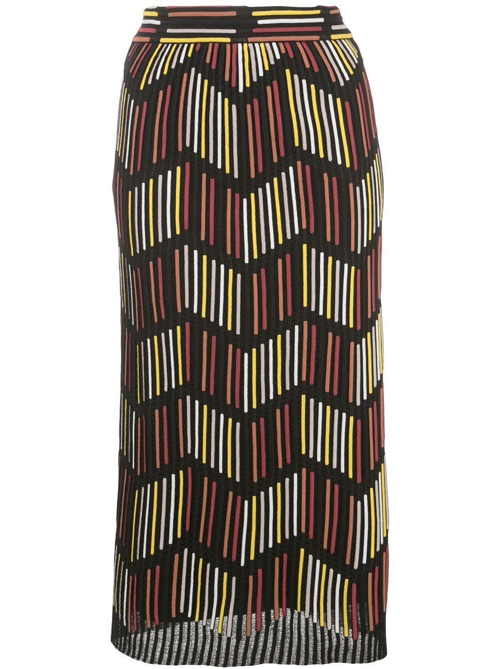 M Missoni юбка-карандаш с завышенной талией