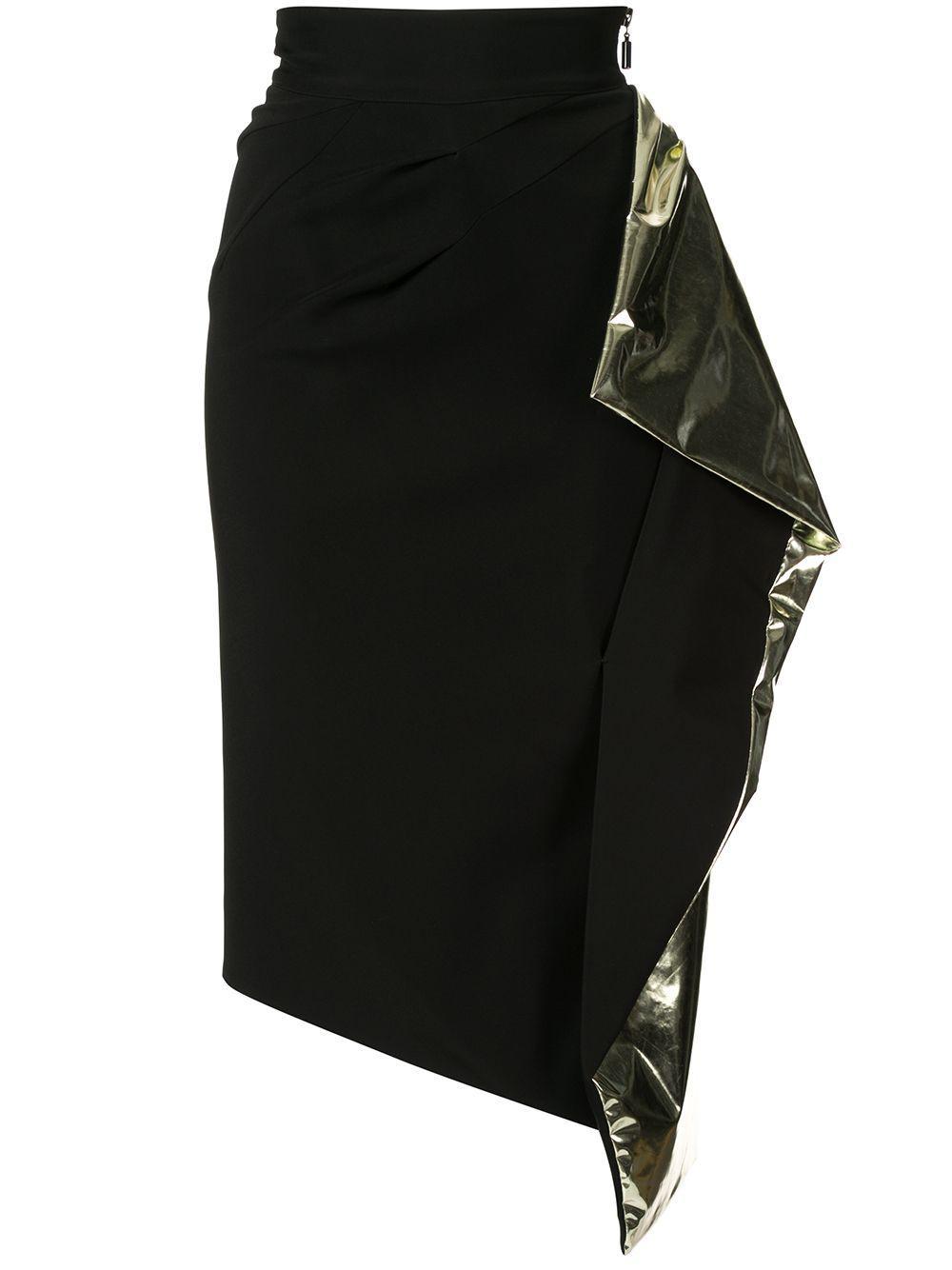 Maticevski юбка Alkali с драпировкой