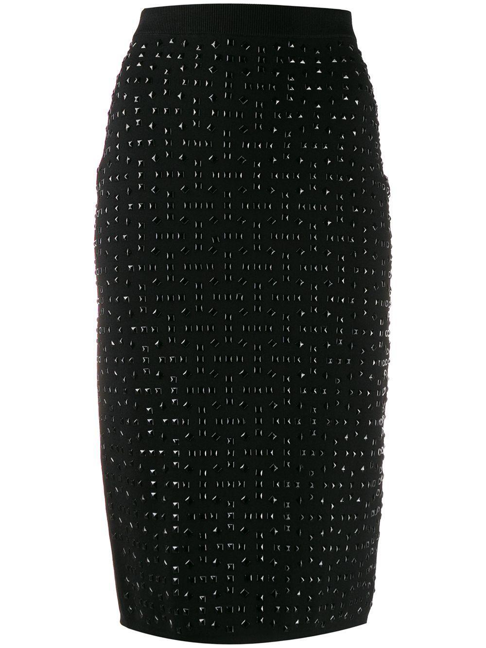 Michael Michael Kors юбка-карандаш с заклепками