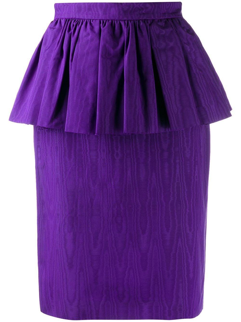 MSGM юбка-карандаш с оборками
