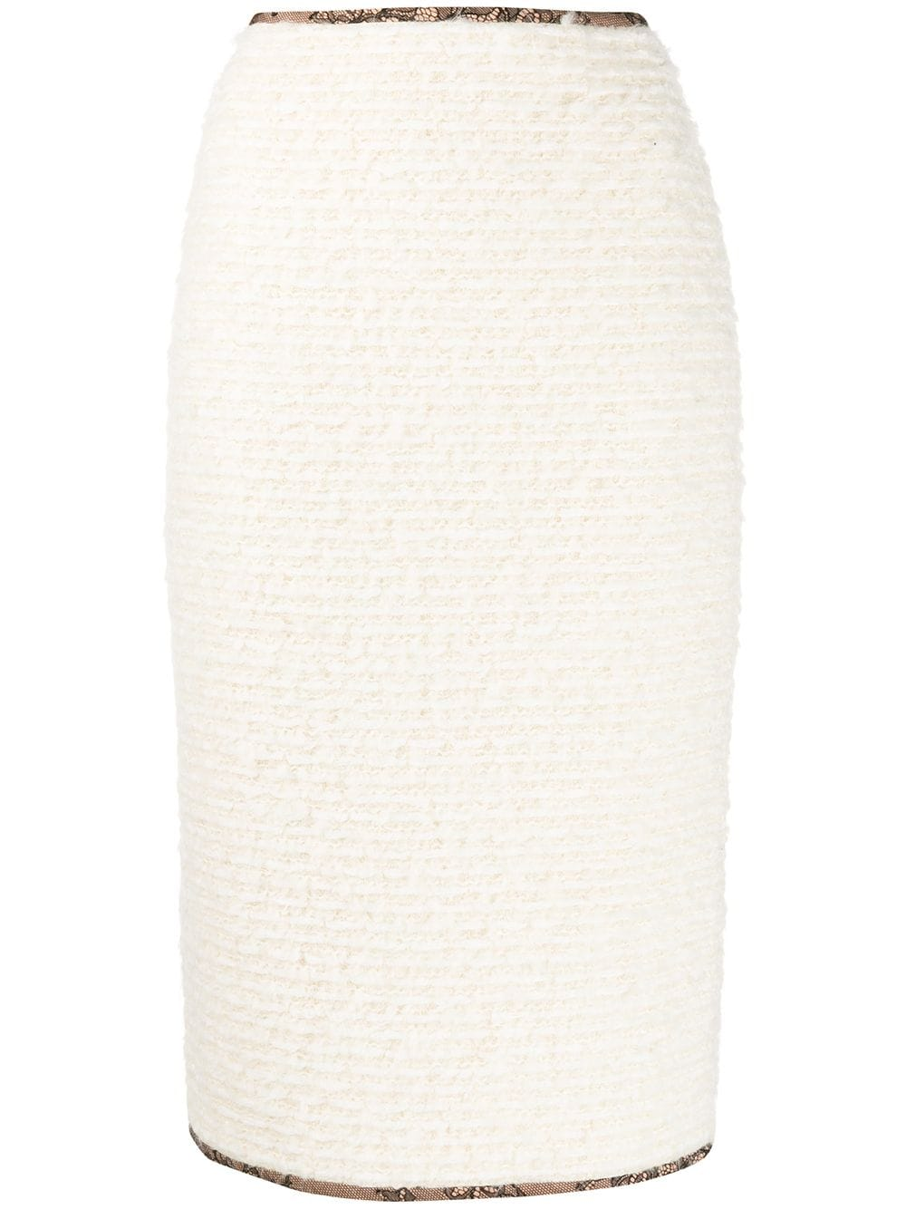Rochas трикотажная юбка-карандаш на молнии