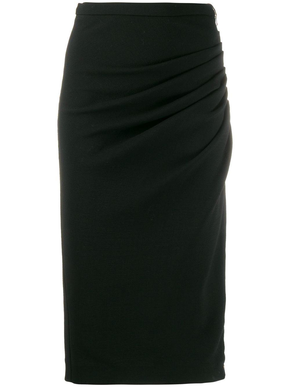 Rochas юбка-карандаш со сборками