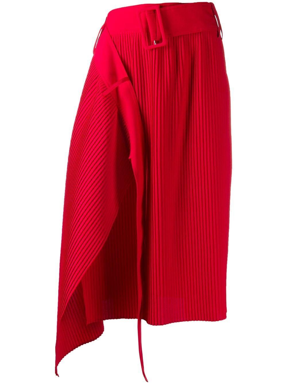 Rokh юбка асимметричного кроя со складками