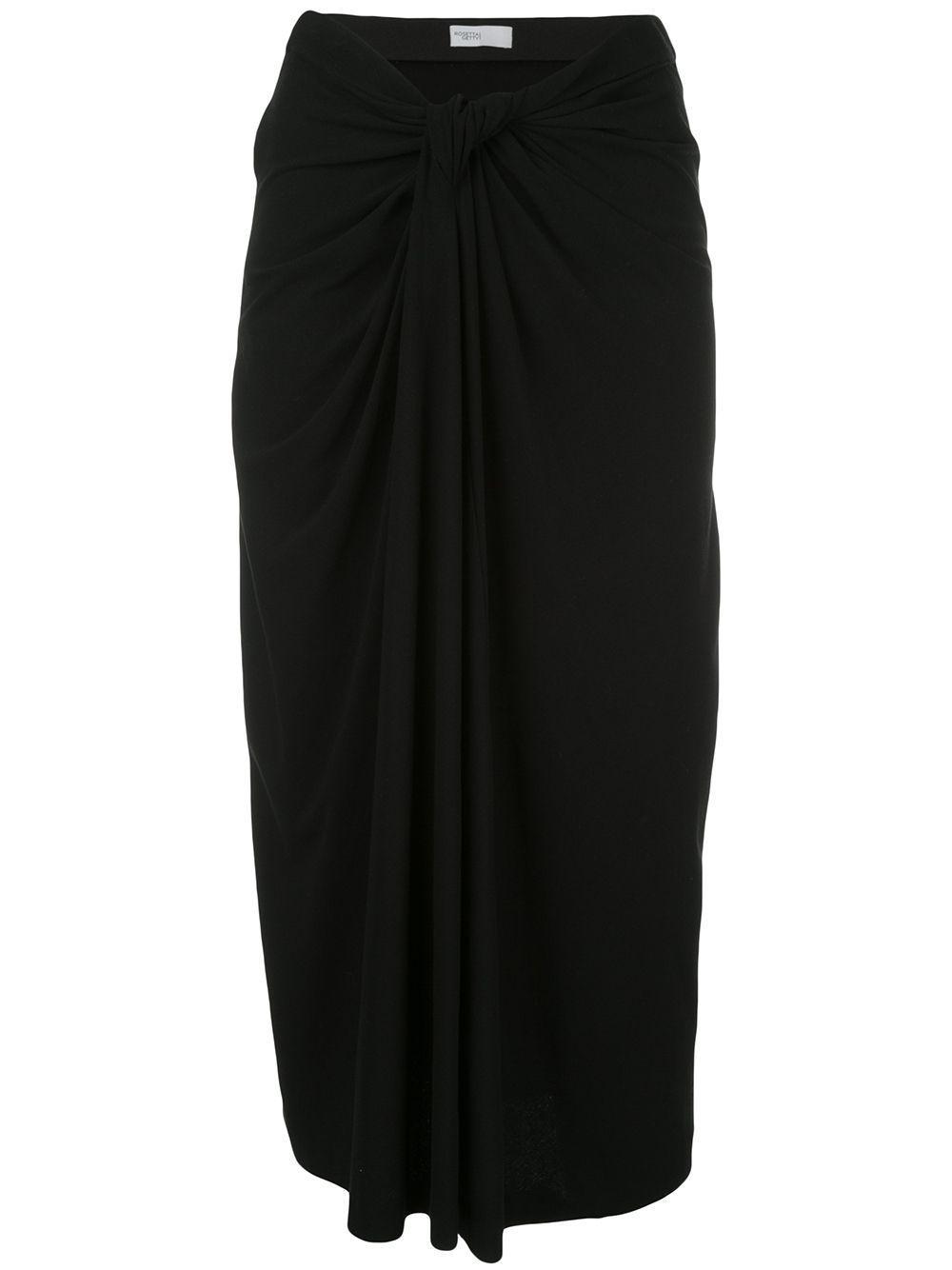 Rosetta Getty драпированная юбка