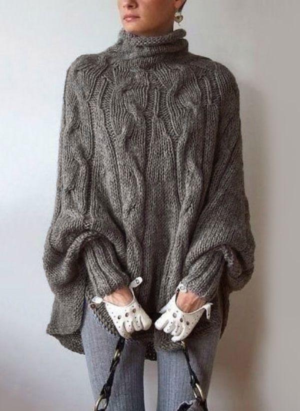 Вязаный свитер осень/зима 2019-2020 1130465