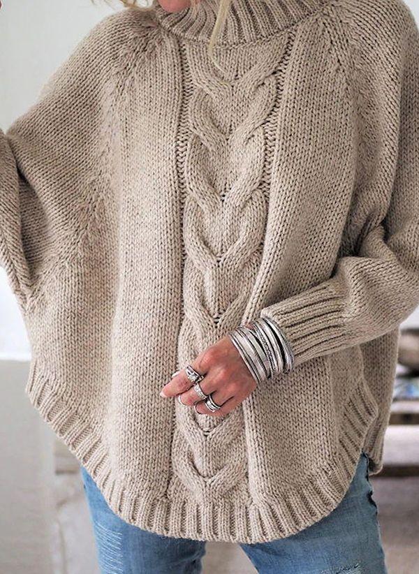 Вязаный свитер осень/зима 2019-2020 1352923
