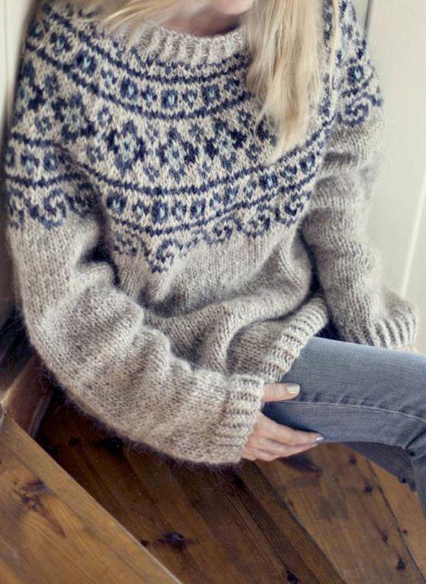 Вязаный свитер осень/зима 2019-2020 1352934
