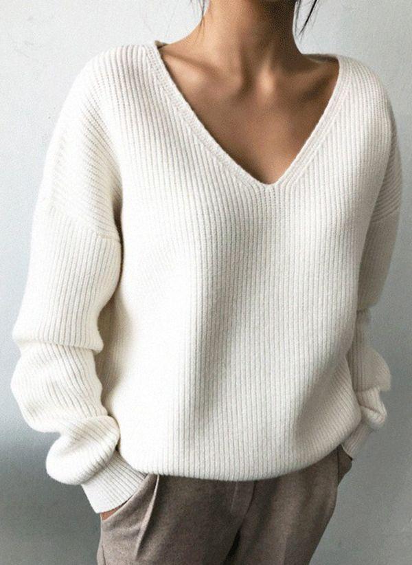 Вязаный свитер осень/зима 2019-2020 1360654