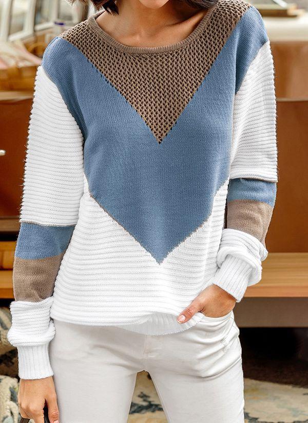 Вязаный свитер осень/зима 2019-2020 1365426