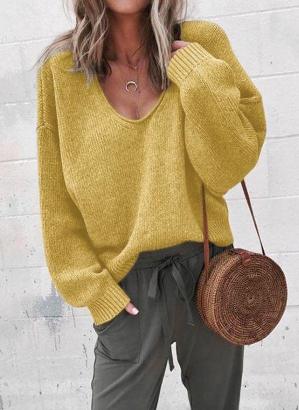 Вязаный свитер осень/зима 2019-2020 1366263