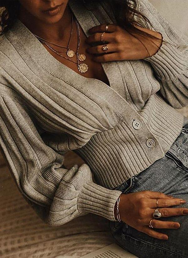 Вязаный свитер осень/зима 2019-2020 1369605