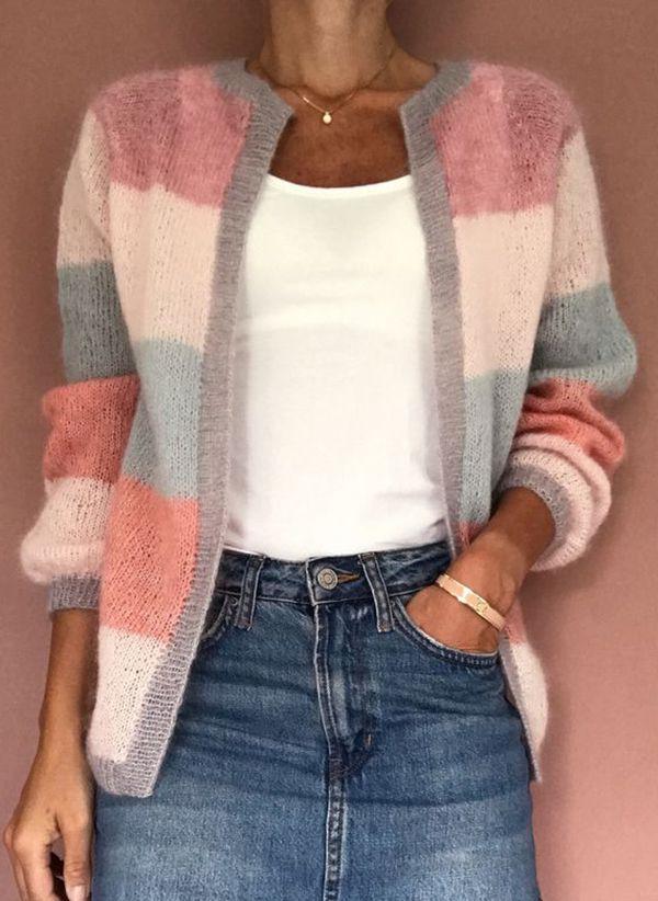 Вязаный свитер осень/зима 2019-2020 1371630