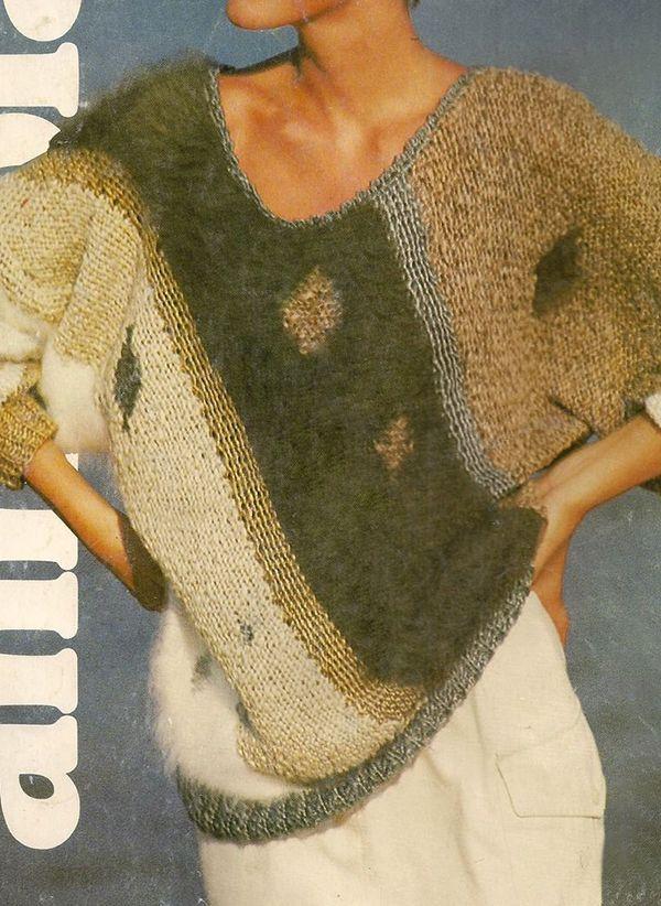 Вязаный свитер осень/зима 2019-2020 1383458