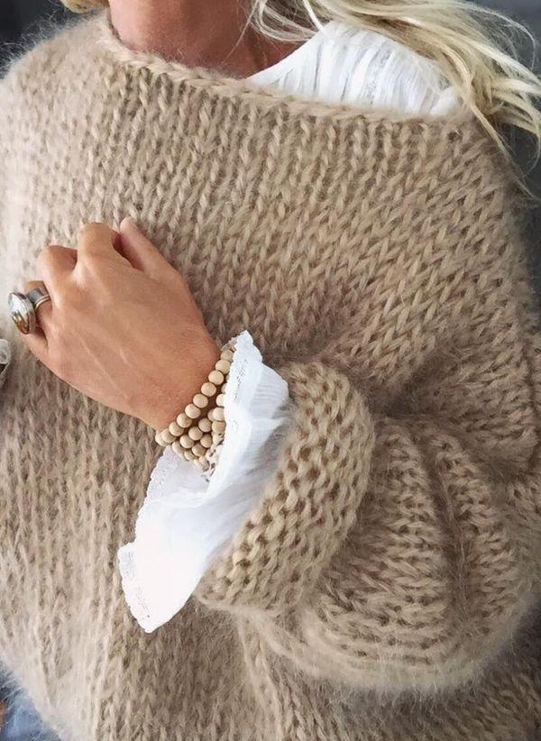 Вязаный свитер осень/зима 2019-2020 1394800