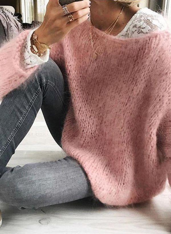 Вязаный свитер осень/зима 2019-2020 1394809