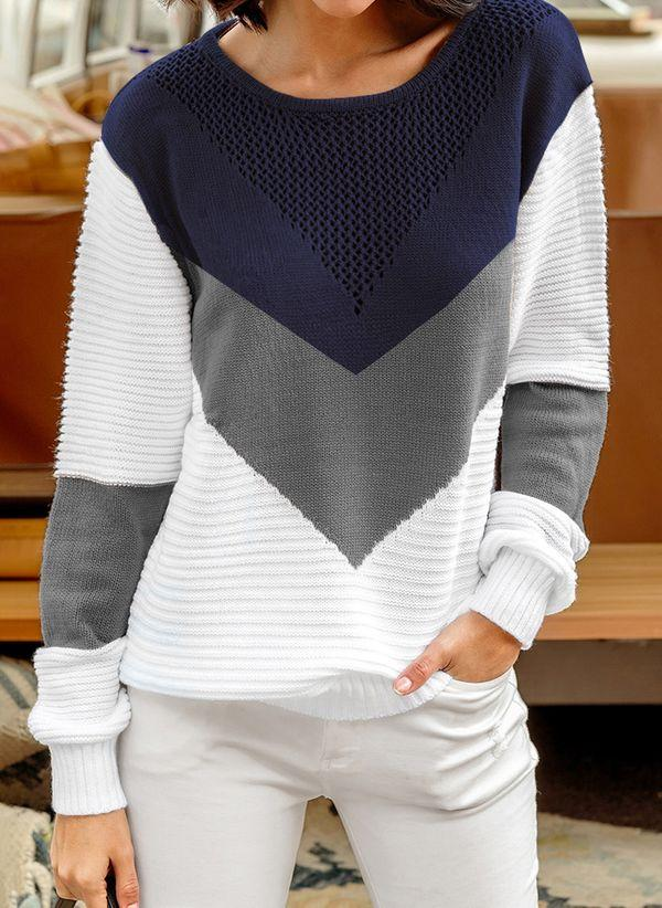 Вязаный свитер осень/зима 2019-2020 1402256