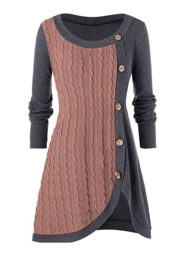 Вязаный свитер осень/зима 2019-2020 1403823