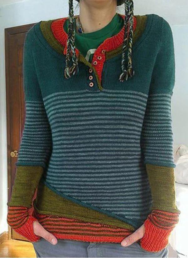Вязаный свитер осень/зима 2019-2020 1406140