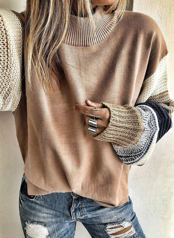 Вязаный свитер осень/зима 2019-2020 1423769