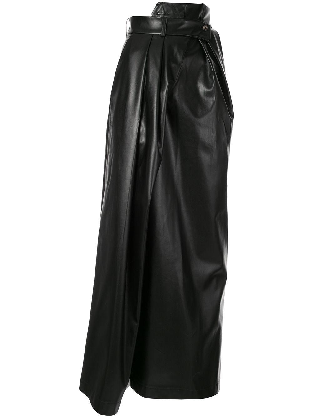 A.W.A.K.E. Mode юбка асимметричного кроя с запахом