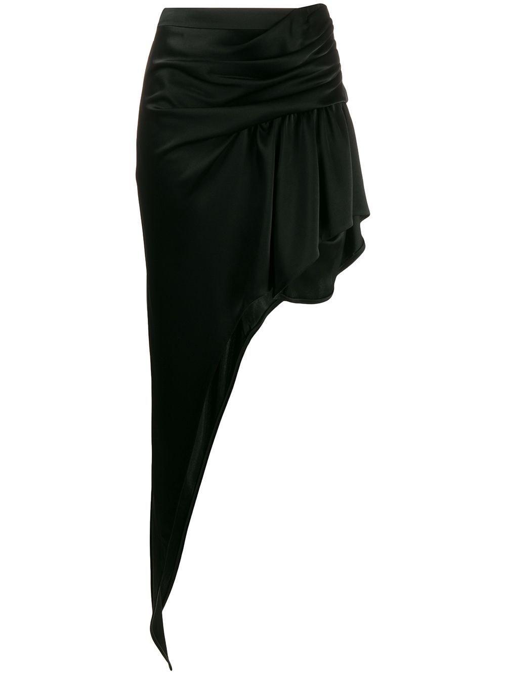 Alexander Wang юбка макси асимметричного кроя