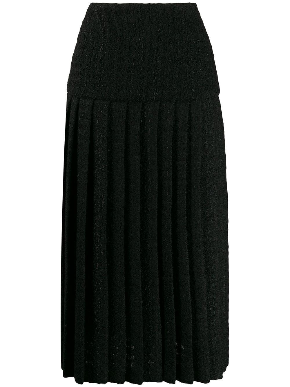 Alexandre Vauthier юбка со складками