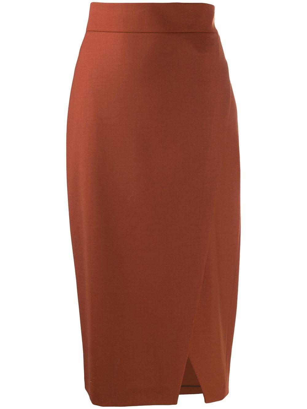 Antonelli юбка-карандаш с драпировкой