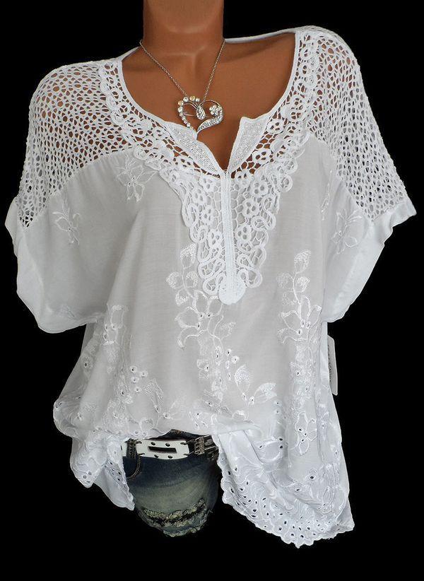 Белая блузка 1205595