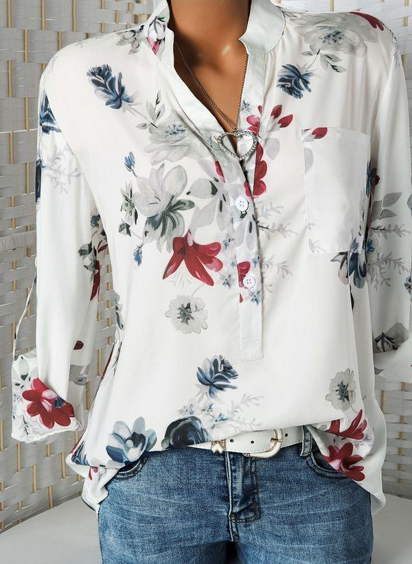 Белая блузка 1237556