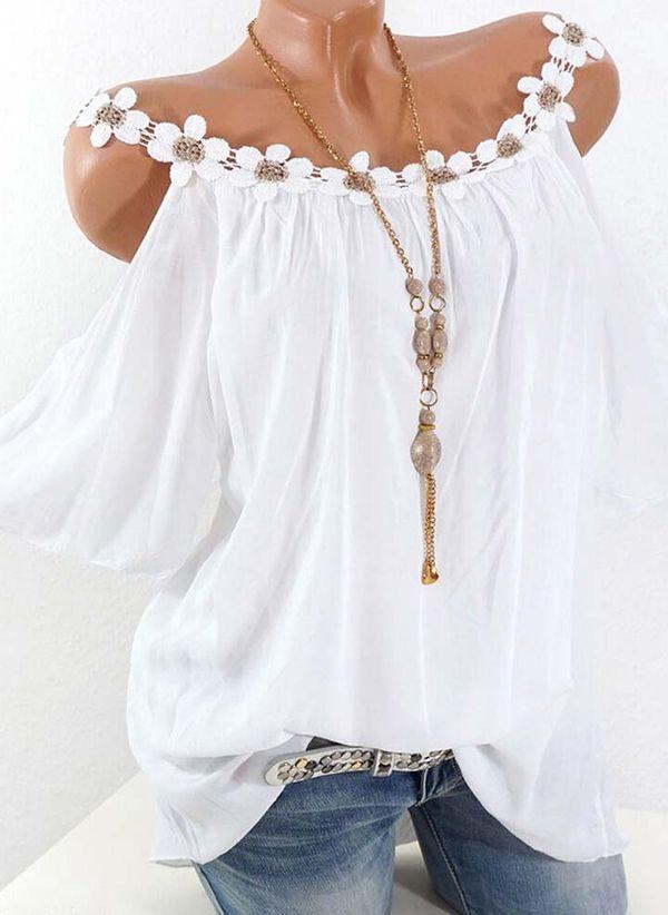 Белая блузка 1326068