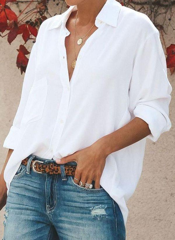 Белая блузка 1346622