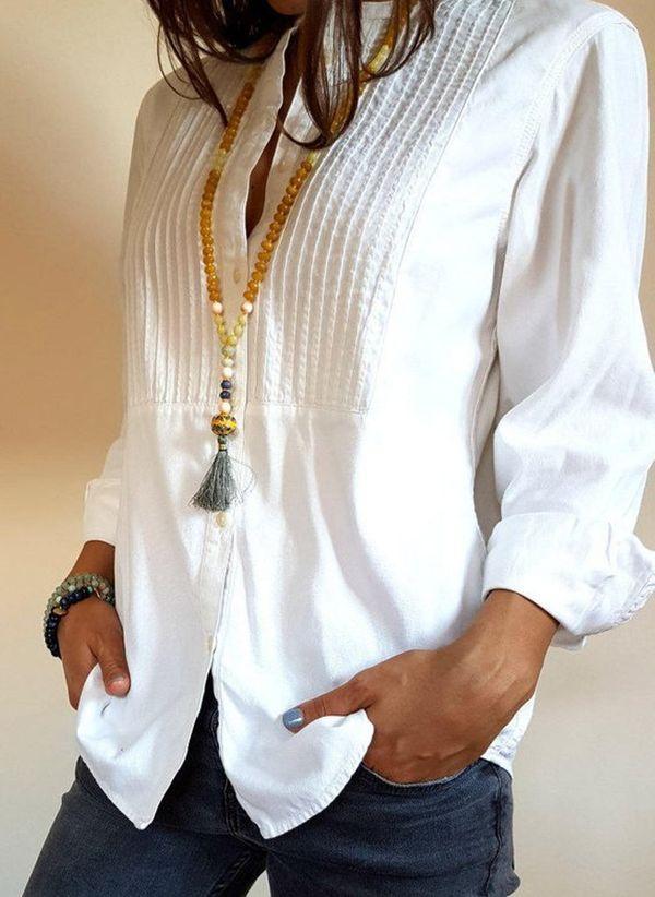 Белая блузка 1350854