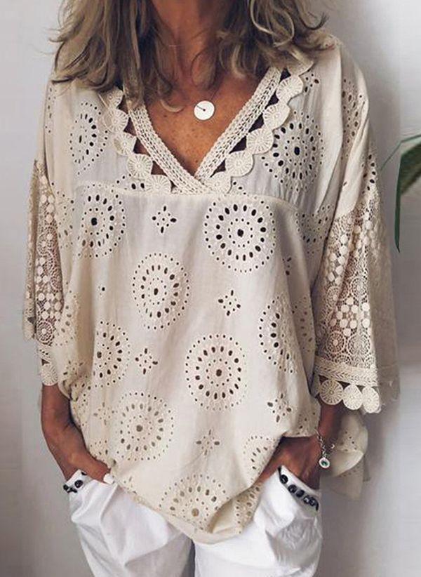 Белая блузка 1382484