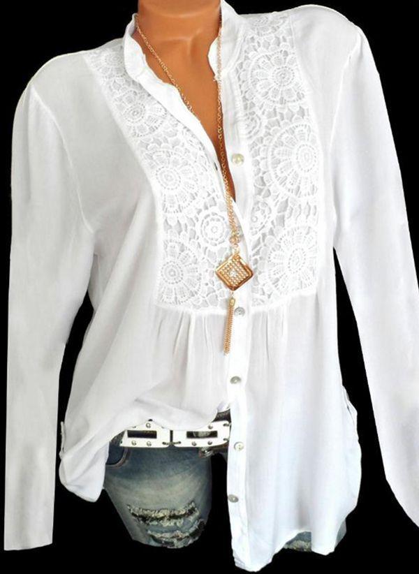 Белая блузка 1416389