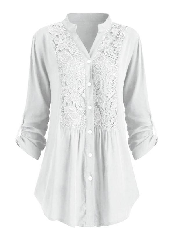 Белая блузка 1421243