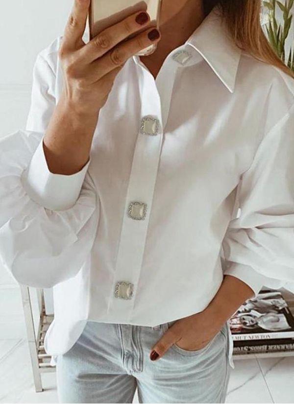 Белая блузка 1425532