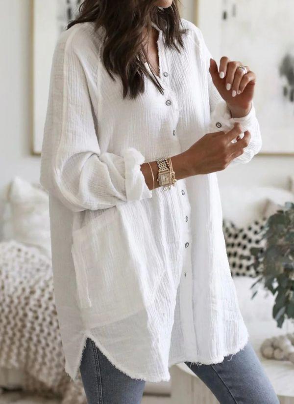 Белая блузка 1425585