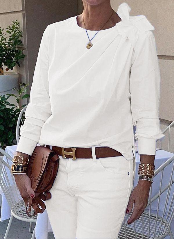Белая блузка 1425605