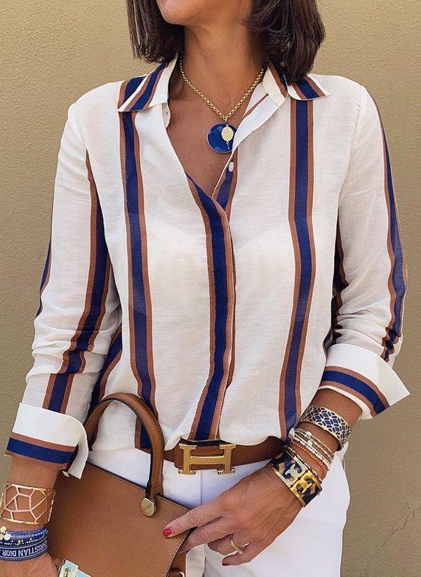 Белая блузка 1425606