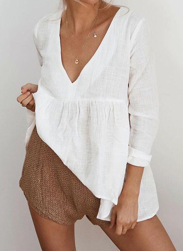 Белая блузка 1425625